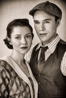 Sam Underwood and Valorie Curry in One Day When We Were Young